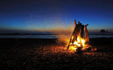 【初心者向け】キャンプで知っておきたい薪の種類「針葉樹 広葉樹」から大きく炎が上がる組み方まで使いこなそう。