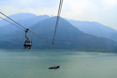 【香港のパワースポット】アジア最長ゴンドラに乗ってランタオ島へ!暗くなるとビル夜景もキレイ