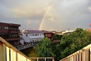 「最高の祝福」見れた人は幸運と決断のサイン。ダブルレインボーと三重の虹!