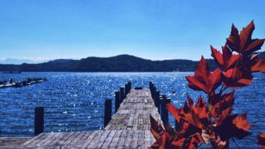 【野尻湖一周で車中泊】歴史ある遺跡と癒しの森!まるで海外のような湖の車中泊スポット。